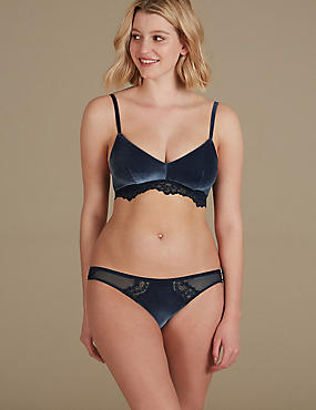 Velvet Set with Non-Padded