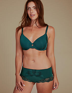Sophia Lace Padded Set with Full Cup A-E