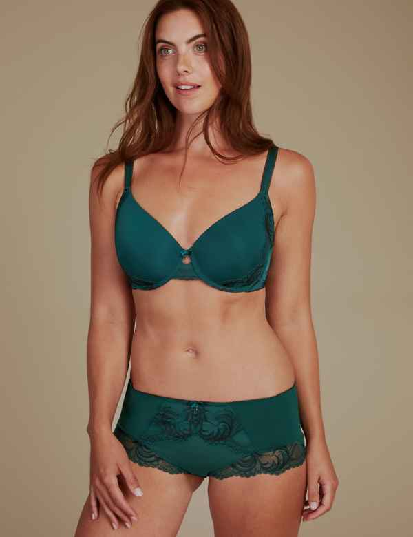 e92437383e Sophia Lace Padded Set with Full Cup A-E