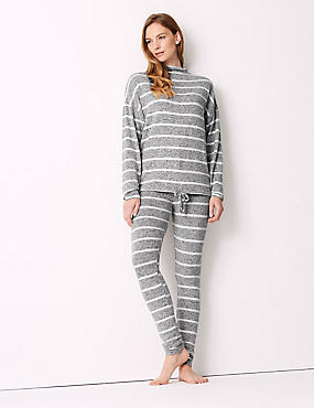 Striped Long Sleeve Pyjama Set