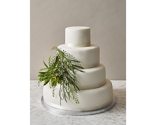 Build Your Own Modern Wedding Cake - Red Velvet or Sponge (Serves 8-50)