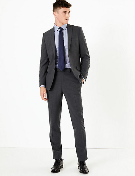The Ultimate Big & Tall Charcoal Slim Fit Suit