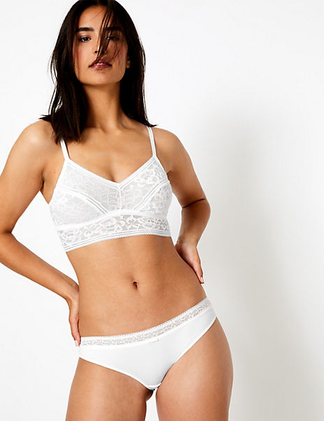 Louisa Lace Set with Longline Bralet