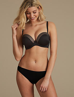 Padded Plunge Set with Strapless A-E