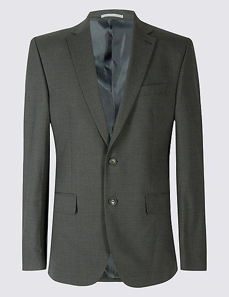 Big & Tall Charcoal Regular Fit Suit