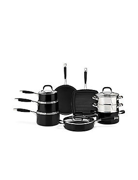 Black Non-Stick Aluminium Pan Range