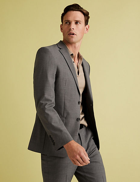 The Ultimate Grey Tailored Fit Suit
