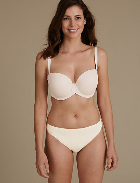 Padded Set with Strapless Full Cup DD-GG