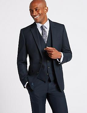 Navy Slim Fit 3 Piece Suit