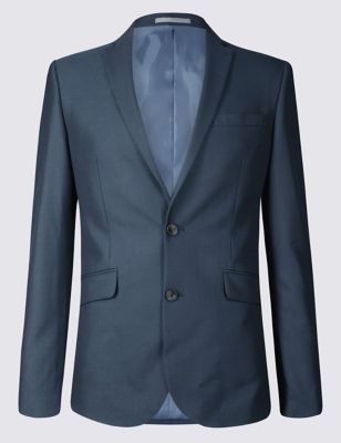 Indigo Skinny Fit Suit by Marks & Spencer