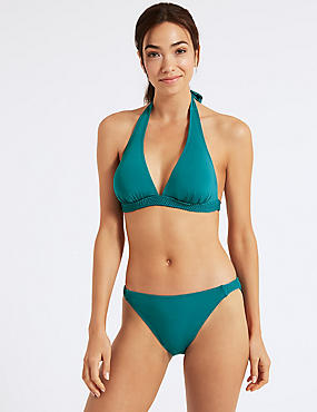 Non-Wired Plunge Bikini Set