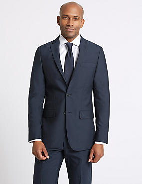 Big & Tall Indigo Tailored Fit Suit