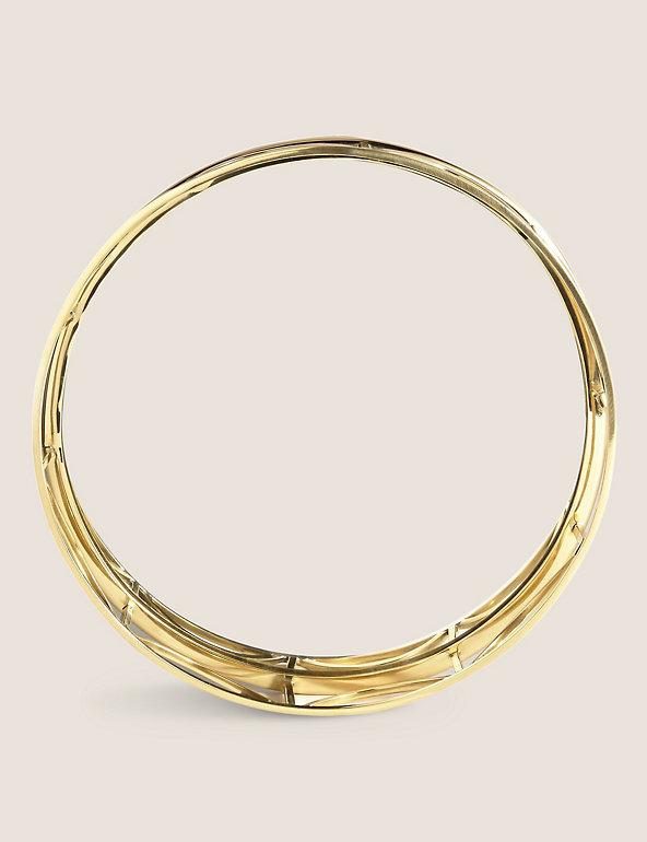 Deco Mirrored Round Tray M S, 30cm Round Mirror Tray