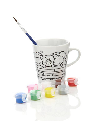 Decorate Your Own Mug M S