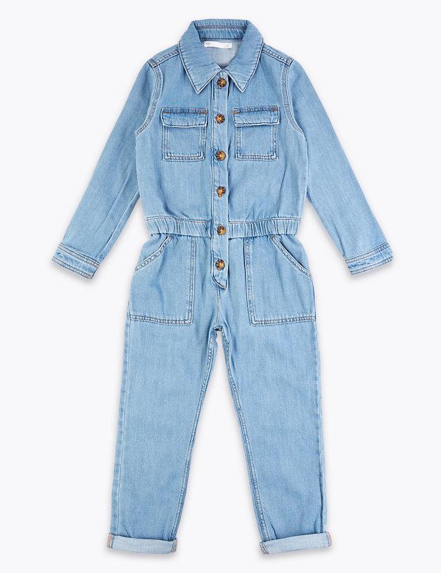 Denim Boiler Suit (6-16 Years)
