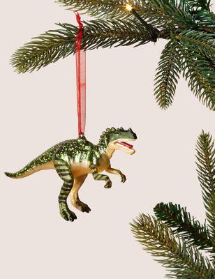 Dinosaur Single Christmas Decoration M S