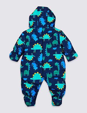 d6e90baf1 Dinosaur Snowsuit   M&S