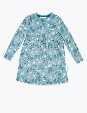 New Girls Frozen T-shirt Long Sleeve Top Cotton Disney T-shirt Age 4 6 /& 8 Y 5