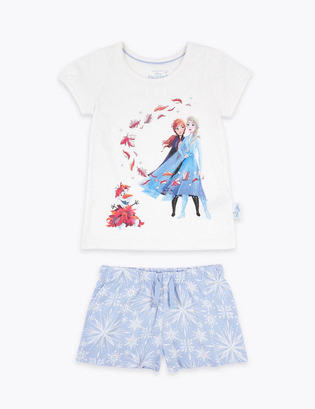 Disney Frozen™ 2 Sequin Shortie Pyjamas (2-10 Yrs)