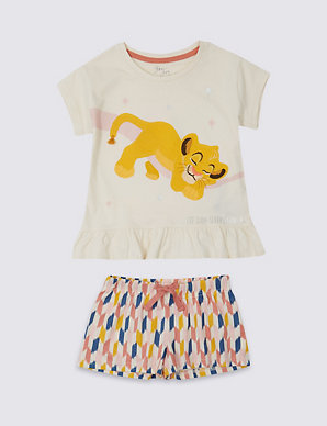 da2924cd9 Disney Lion King™ Short Pyjamas (1-7 Years) | M&S
