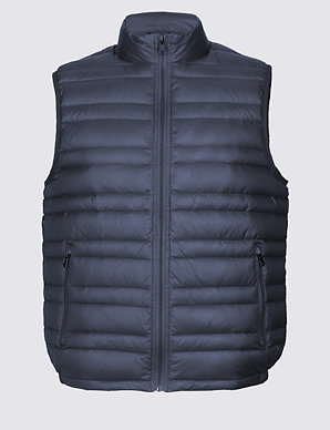 301eeb62e69 Down & Feather Gilet with Stormwear™ | M&S Collection | M&S