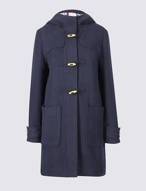 marks and spencer duffle coat