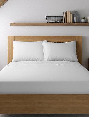 8967b360fe Egyptian Cotton 400 Thread Count Sateen Standard Pillowcase   M&S