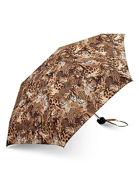 Flexilite Abstract Animal Print Umbrella with Stormwear™