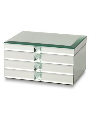 Rectangular Mirrored Large Jewellery Box M Amp S Collection