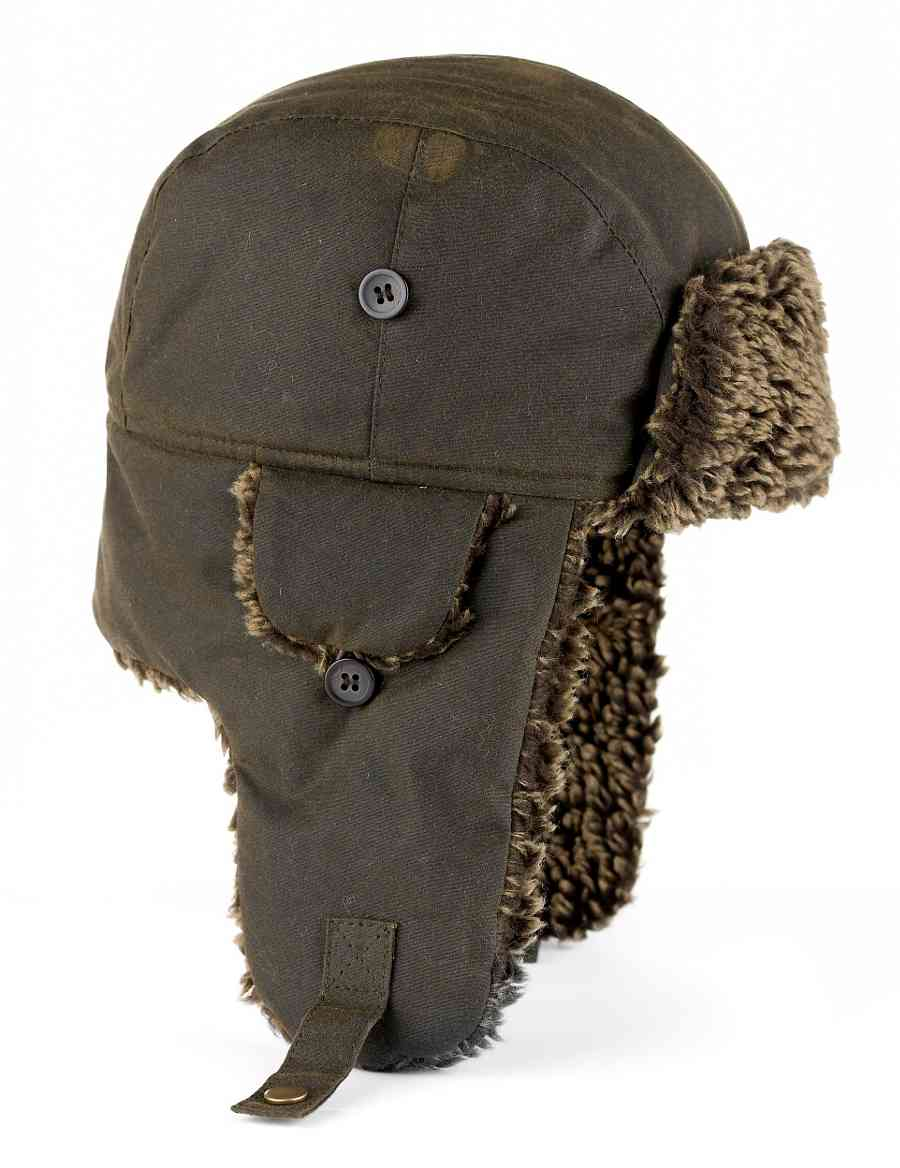 cd170c8b533 Pure Cotton Waxed Trapper Hat with Stormwear™
