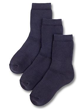 3 Pairs of Thermal School Socks (3-16 Years)