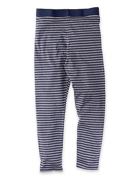 Heatgen™ Striped Thermal Long Pants (5-14 Years)