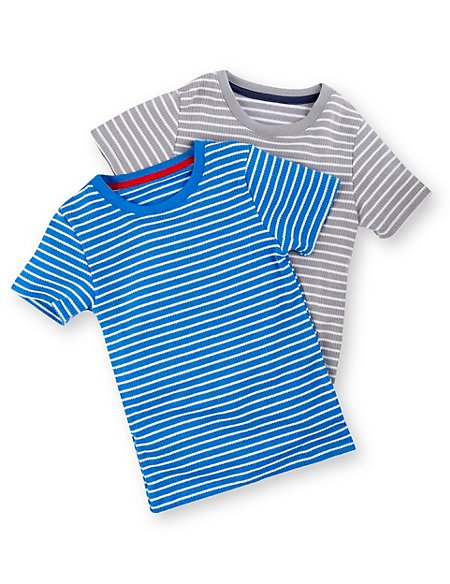 Striped Thermal Vests (2-16 Years)