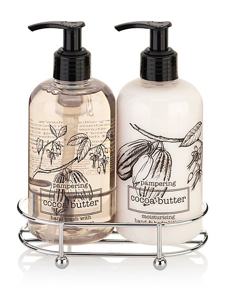 Pampering Cocoa Butter Hand Care Duo Gift Set