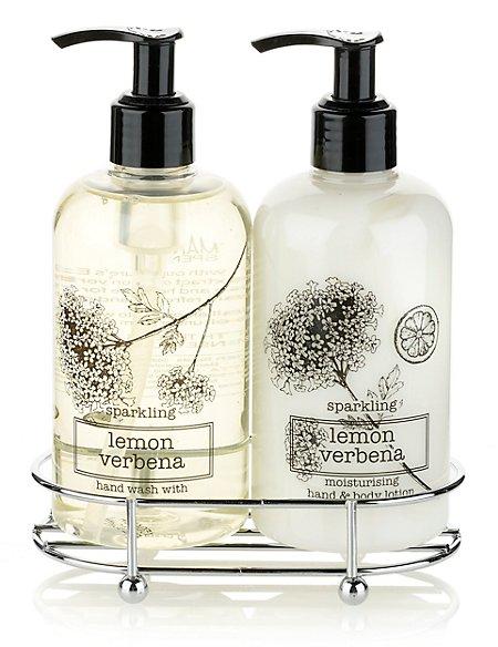 Sparkling Lemon Verbena Hand Duo Gift Set