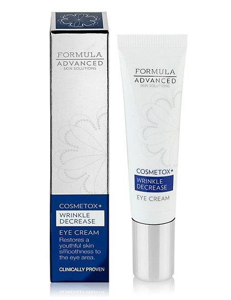Cosmetox+ Wrinkle Decrease Eye Cream 15ml