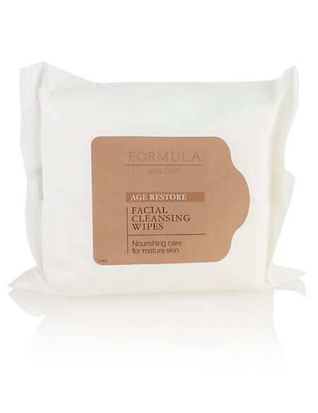 Age Restore Facial Cleansing Wipes