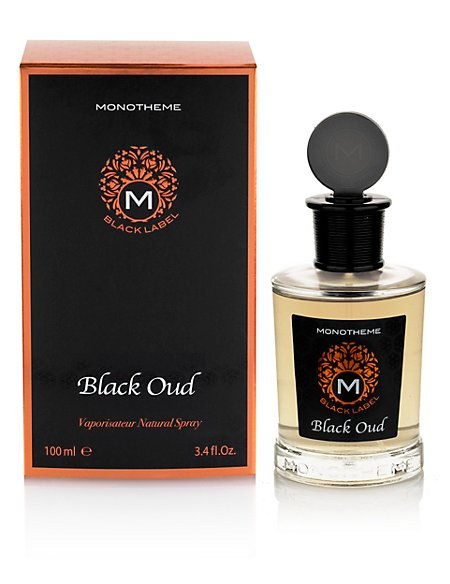 Black Oud Vaporisateur Natural Spray 100ml