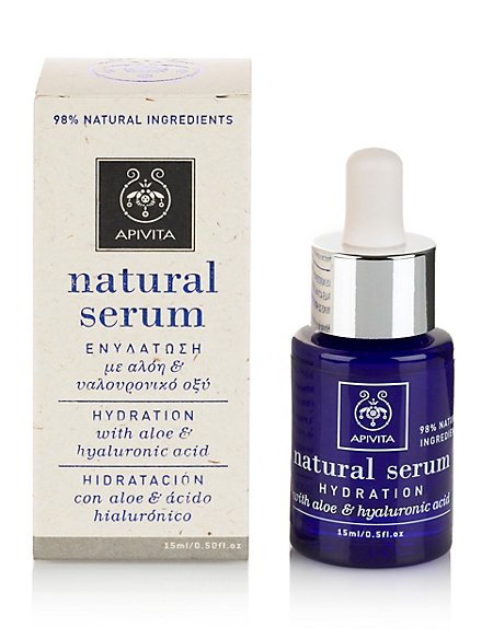 Natural Serum with Aloe & Hyaluronic Acid 15ml