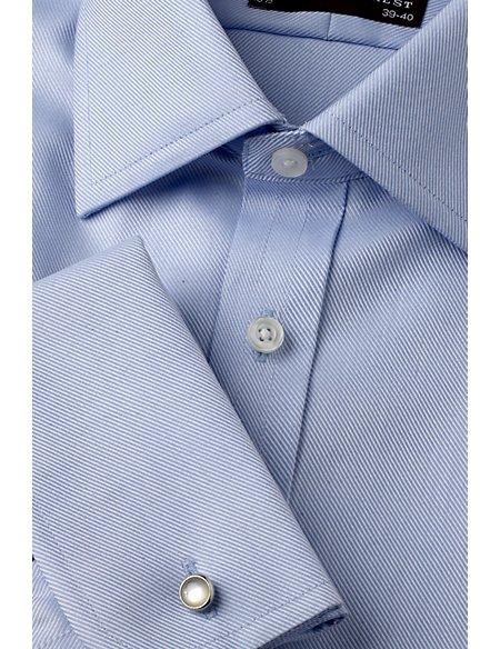 Ultimate Non-Iron Pure Cotton Slim Fit Twill Shirt