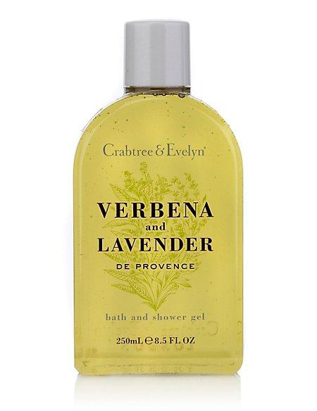 Verbena Lavender Shower Gel 250ml