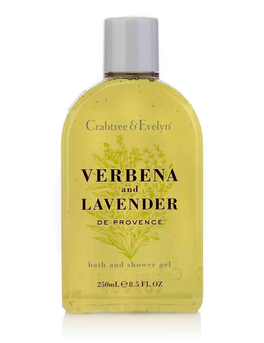 Verbena Lavender Shower Gel 250ml   Crabtree   Evelyn®   M S 55c571ec029