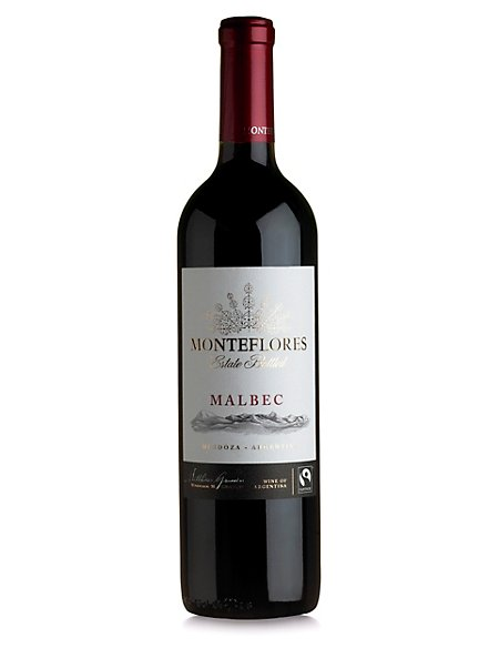 Fairtrade® Monteflores Reserve Malbec - Case of 6