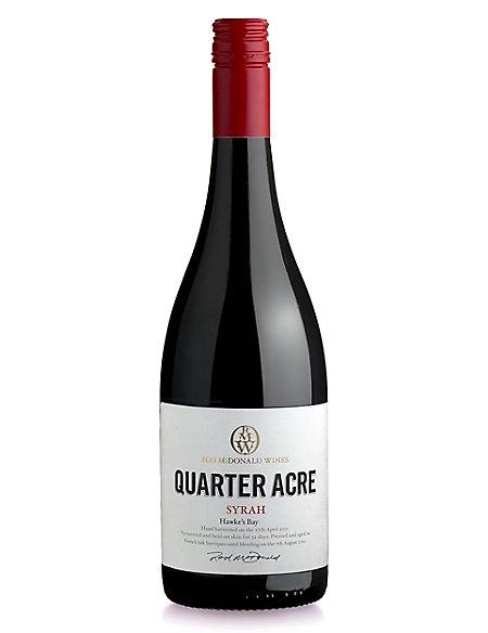 Quarter Acre Syrah - Case of 6