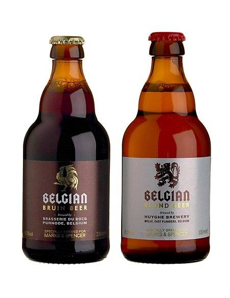 Belgian Beers Mix - Case of 20
