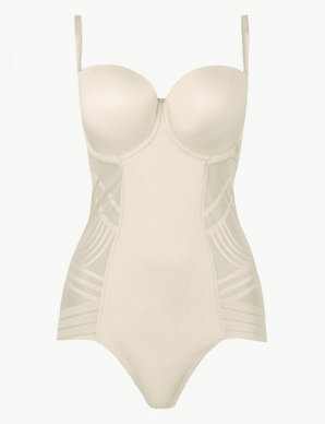 6dce45ad46a0 Firm Control Magicwear™ Strapless Body B-E | M&S Collection | M&S