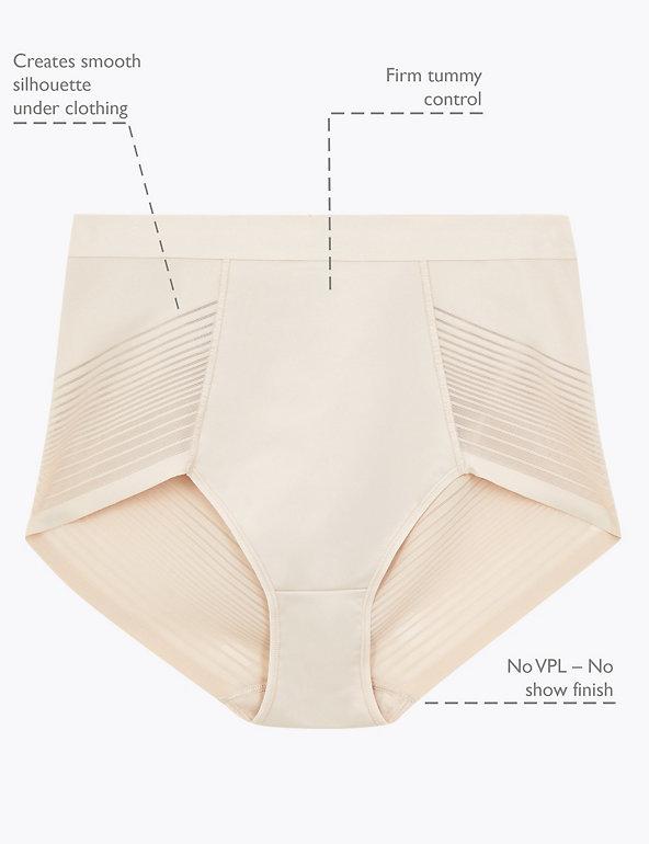M/&S high leg slips no vpl pantalon mid rise briefs ex Marks /& spencer 8-22