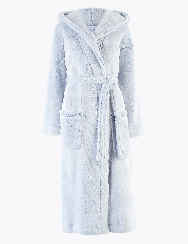 Ex M/&S Children/'s Fleece Dressing Gowns