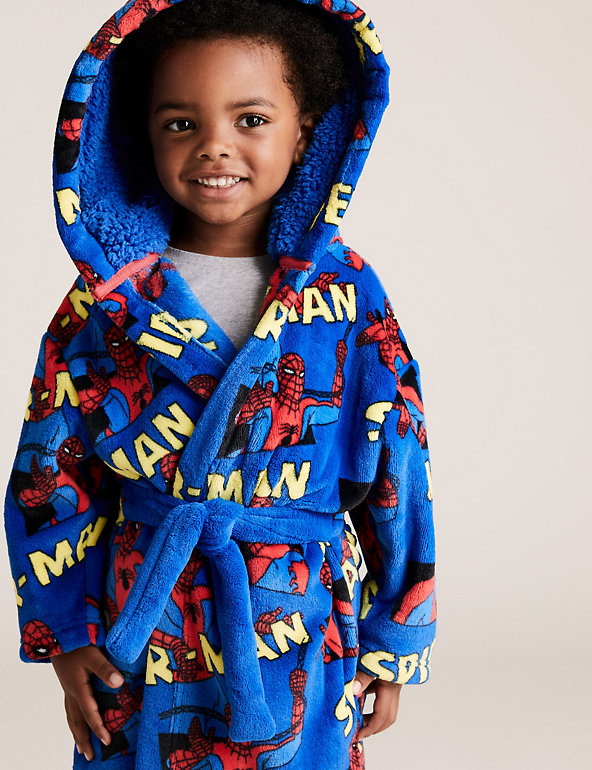 Spiderman Boys Dressing Gown