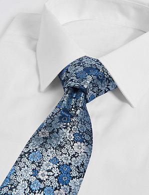 2922c26634b1 Floral Jacquard Tie   M&S Collection   M&S